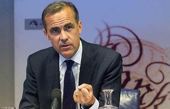 """BOE Başkanı Carney """"Brexit Faiz Artışlarını Erteleyebilir"""""""